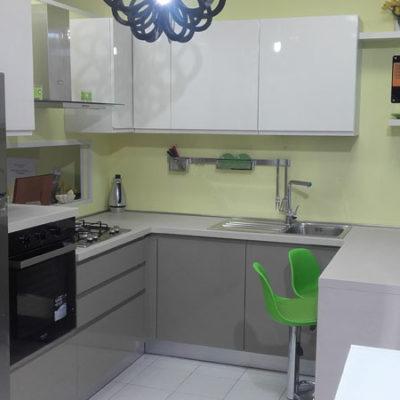 Cucina Angolare Laccato Lucido - Arredamenti Saija - Messina