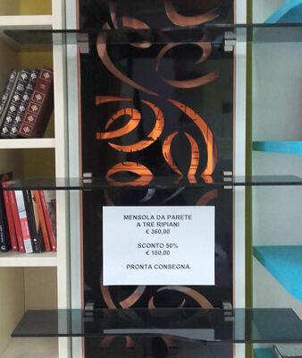 Mensola Vetro Fumé - Arredamenti Saija - Messina