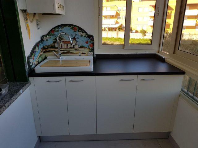 Cucinino in multistrato bilaminato